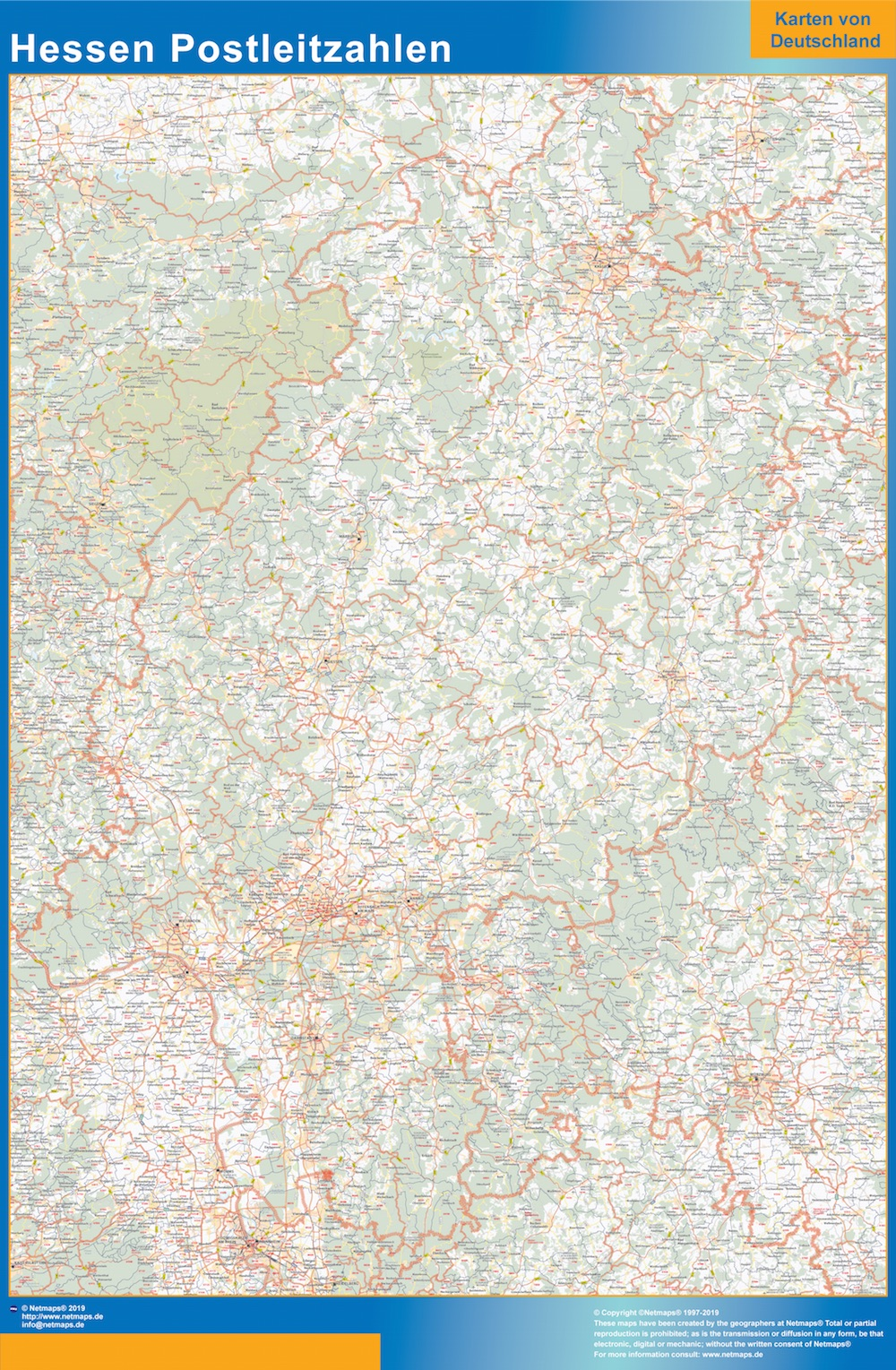 Hessen Postleitzahlen